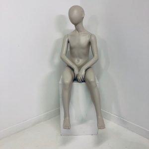 Sitting Child Mannequin Hire