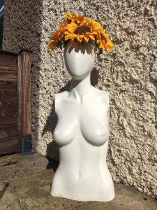 Mannequin Plant Pot