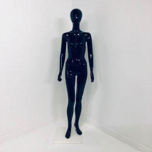 Female Mannequin Athen Black Glossa