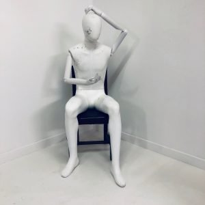 Sitting Male Mannequin For Sale