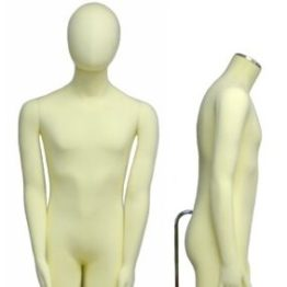Flexible Male Mannequin Dummy Hire